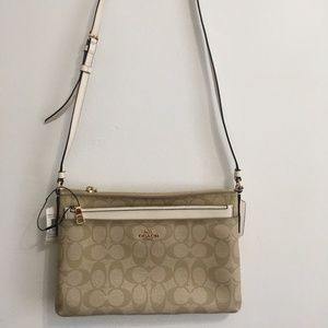 Coach Crossbody with pop-up pouch